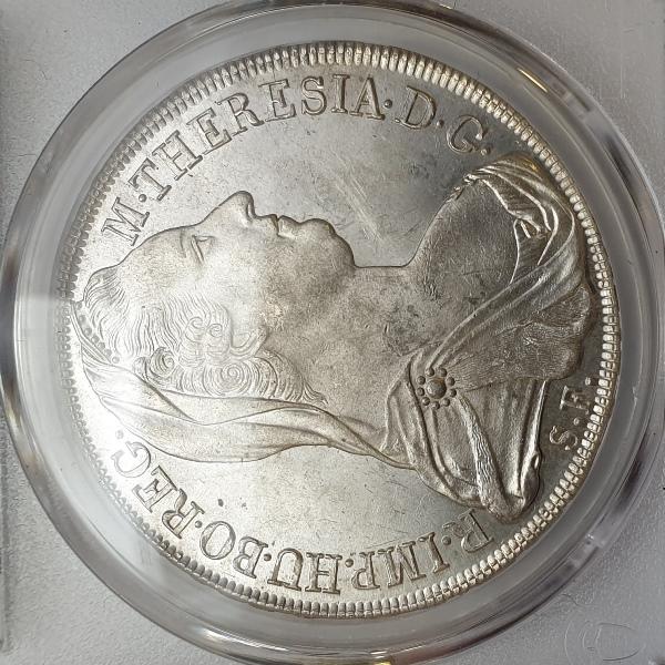 Austria - 1 Thaler 1780 (MS 62), H-36a Milan (1815-28)