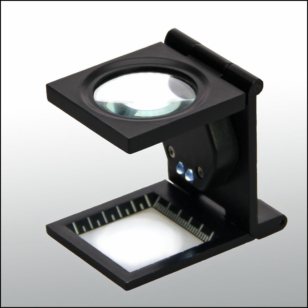 Safe - Precision thread counter with 10x magnification