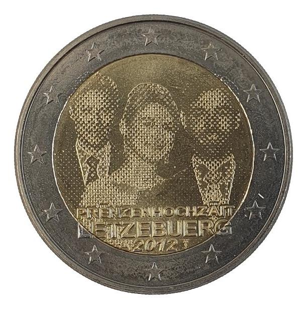 Luxembourg - 2 Euro 2012, UNC