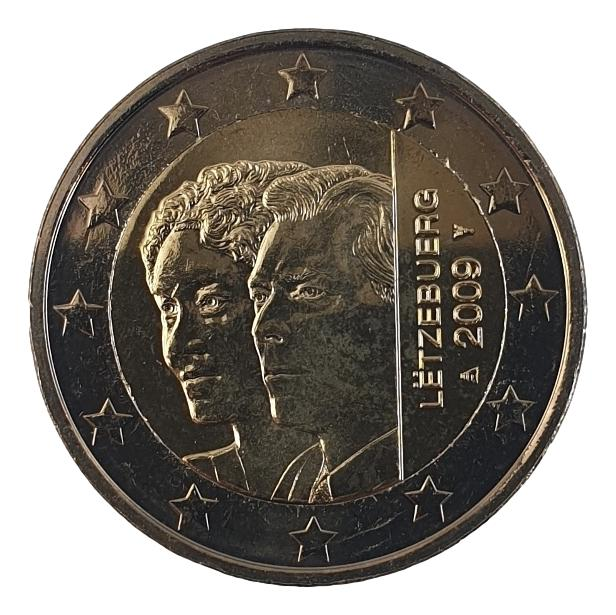 Luxembourg - 2 Euro 2009, UNC