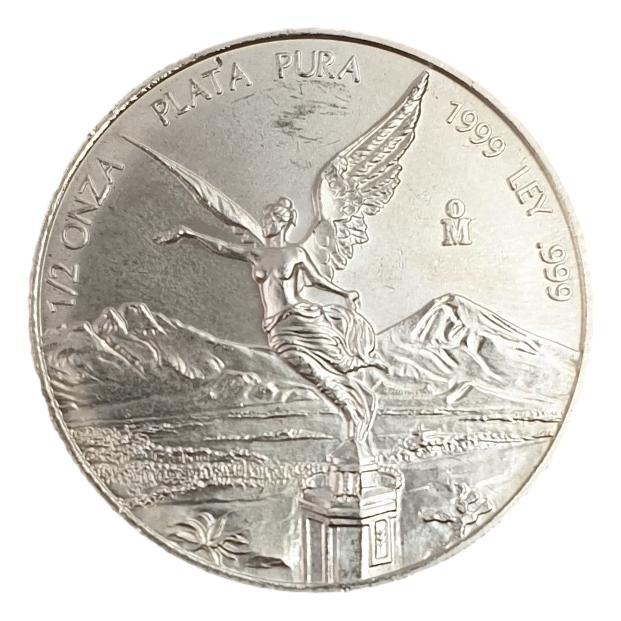 Mexico - 1/2 Onza 1999 - Libertad, Silver 999*