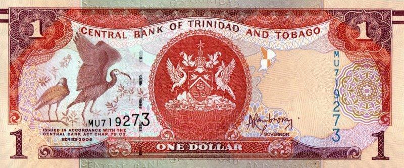 Bank Of Trinidad And Tobago - 1 Dollar 2006, UNC