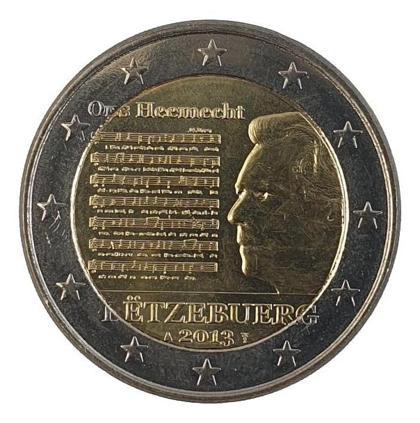 Luxembourg - 2 Euro 2013, UNC