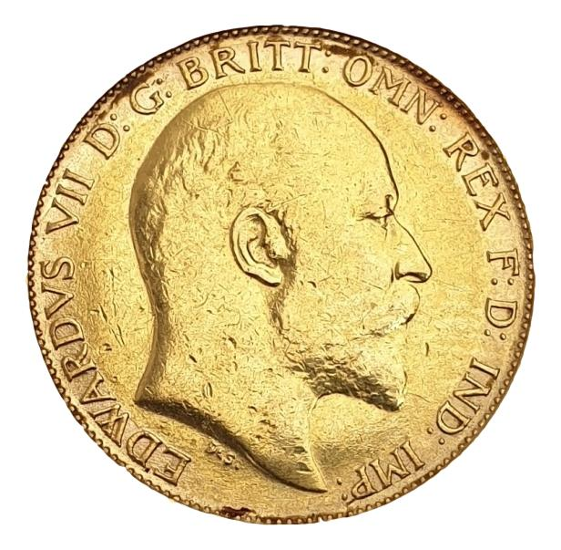England - Half Sovereign 1902, Edward VII