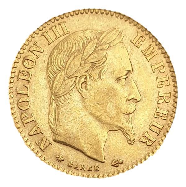 France - 10 Francs 1868, Napoleon III