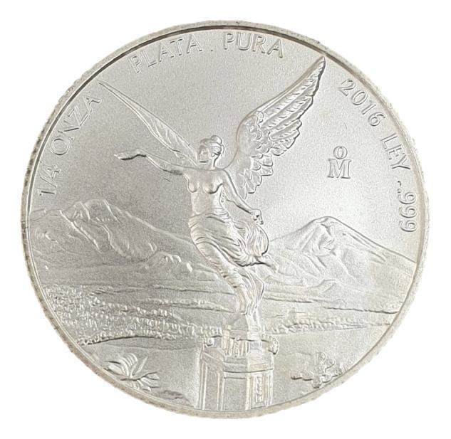Mexico - 1/4 Onza 2016 - Libertad, Silver 999*