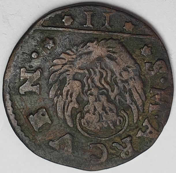 Italy - 2 Soldi 1686-1690