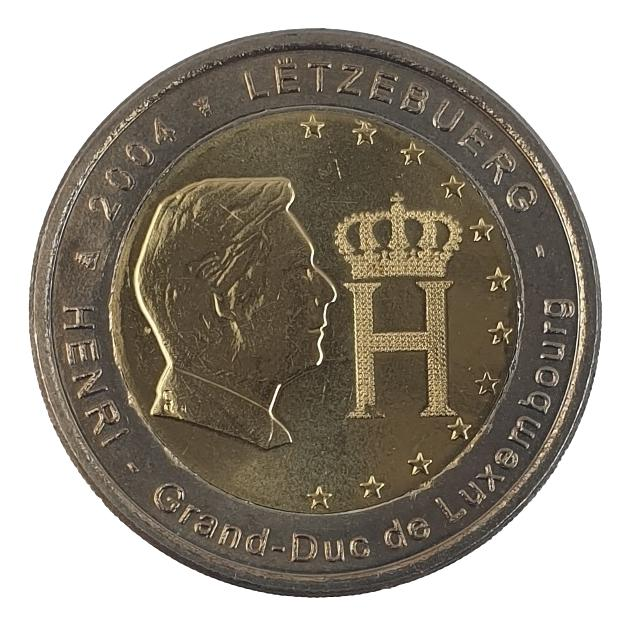 Luxembourg - 2 Euro 2004, UNC
