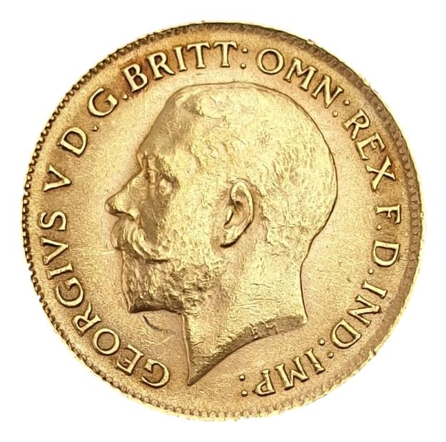 England - Half Sovereign 1914, George V