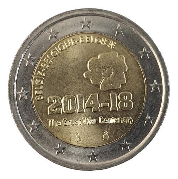 Belgium - 2 Euro 2014, UNC