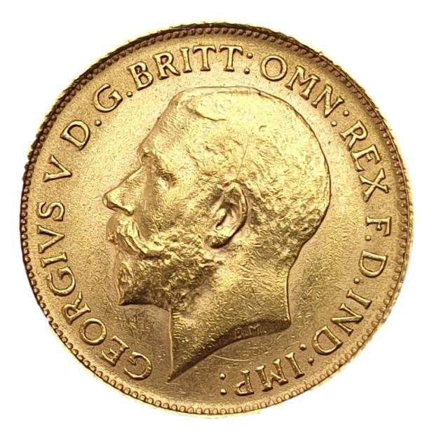 England - Half Sovereign 1913, George V