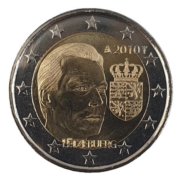 Luxembourg - 2 Euro 2010, UNC
