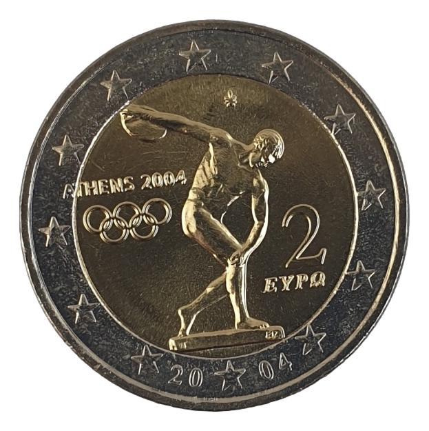 Greece - 2 Euro 2004, UNC