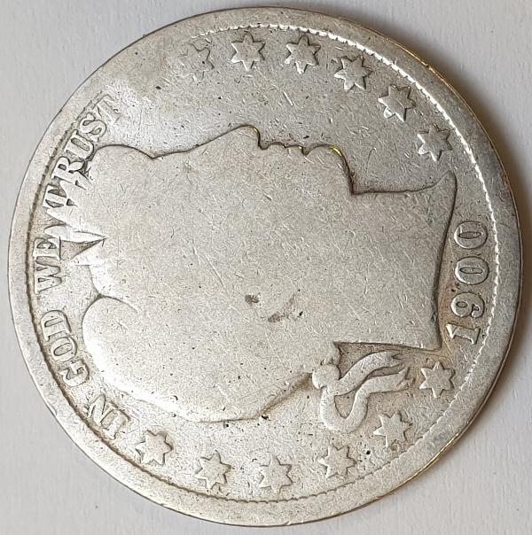 USA - Half Dollar 1900, Silver
