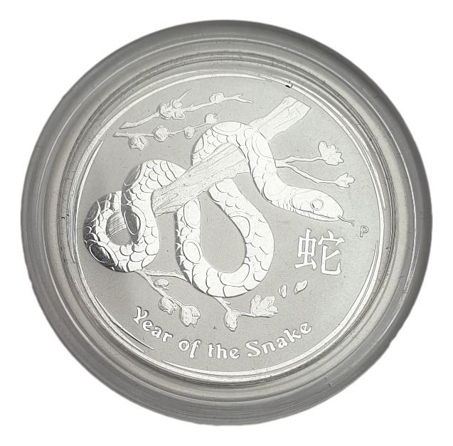 Australia - 1/2  OZ 2013 - Year of the snake, Silver 999*