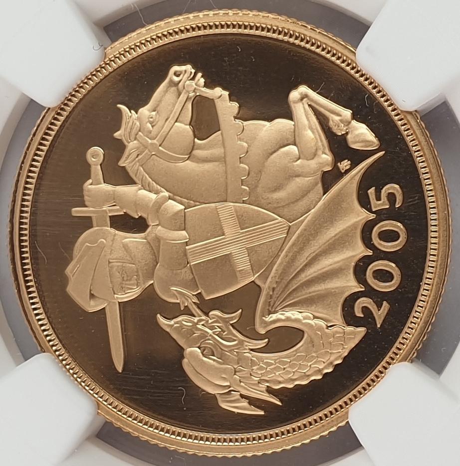 England - 2 Sov 2005 (PF 69 ULTRA CAMEO)