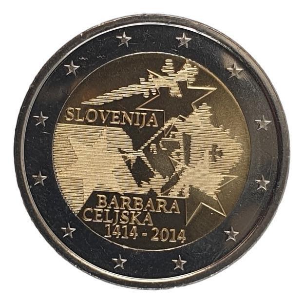 Slovenia - 2 Euro 2014, UNC