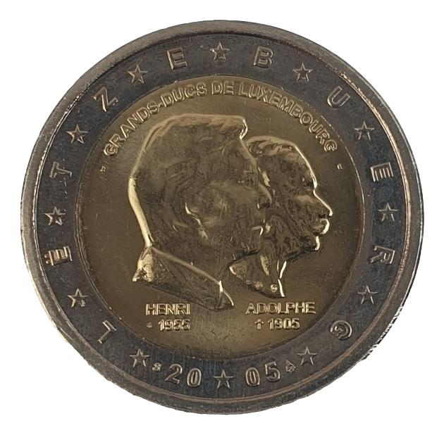 Luxembourg - 2 Euro 2005, UNC