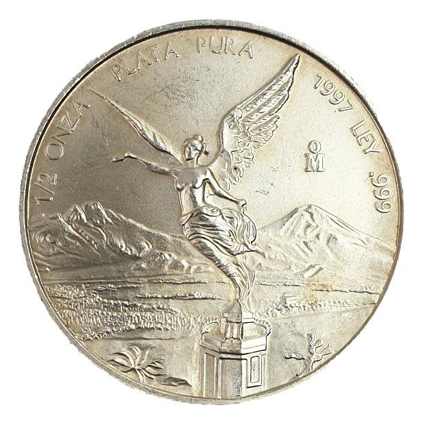 Mexico - 1/2 Onza 1997 - Libertad, Silver 999*