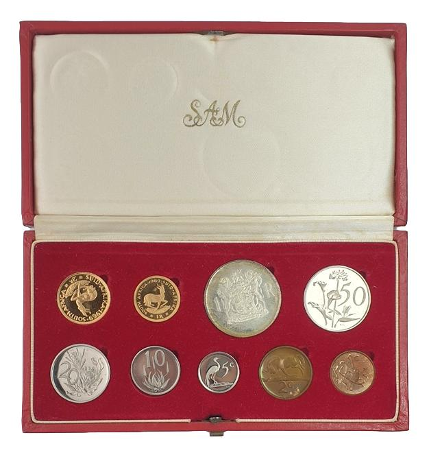 South Africa - Coin Set 1969