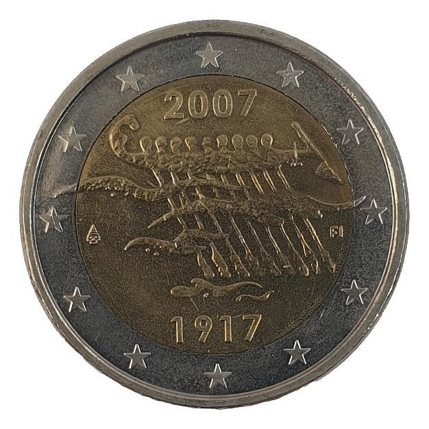 Finland - 2 Euro 2007, UNC
