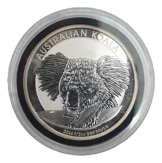 Australia - 1/2  OZ 2014 - Australian Koala, Silver 999*