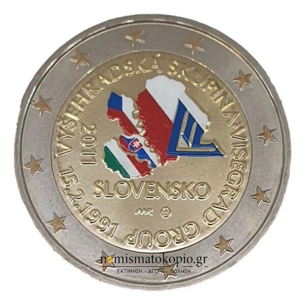 Slovakia - 2 Euro 2011, Color, UNC