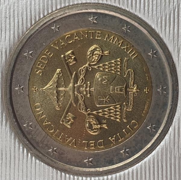 Vaticano - 2 Euro 2013, Vacant Papal See, (Coin Card)