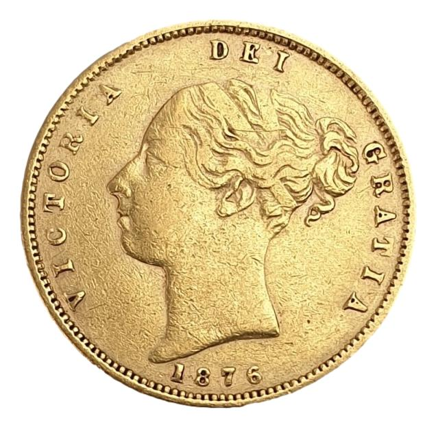 England - Half Sovereign 1876, Victoria