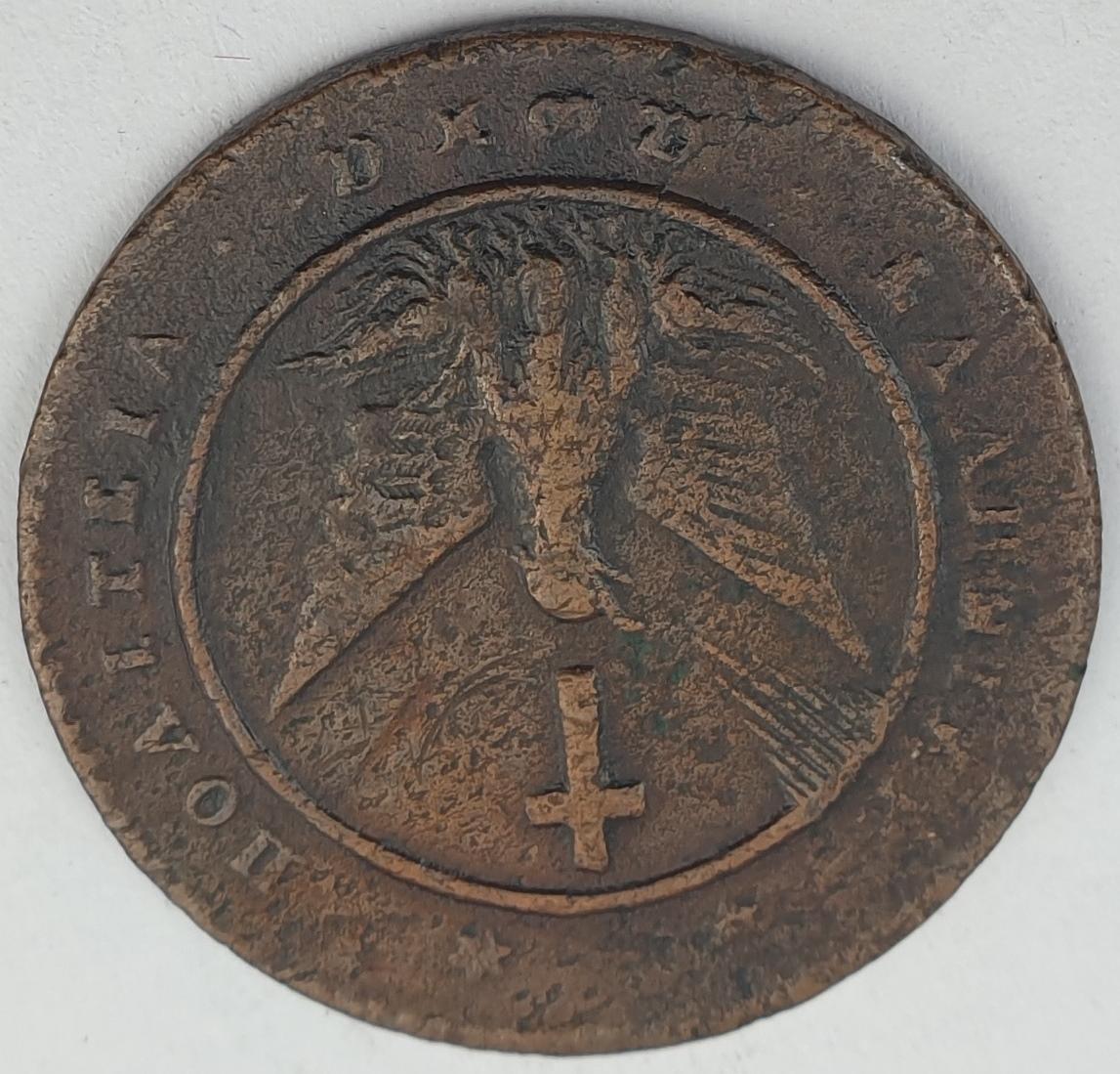 Greece - 5 Lepta 1828, Ioannis Kapodistrias