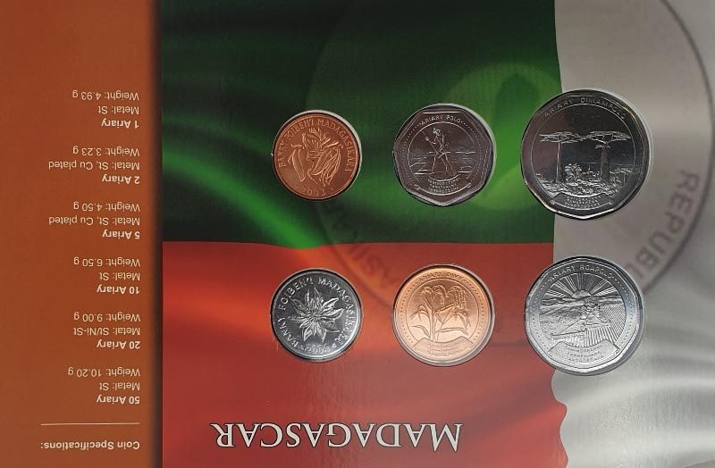 Coins Set - Madagascar