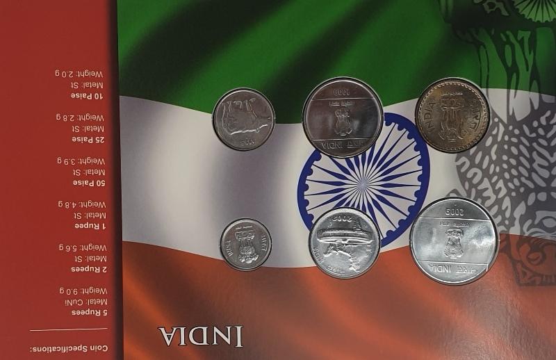 Coins Set - India