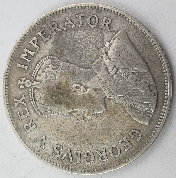 South Africa - 2 and Half Shillings 1923, George V, Silver