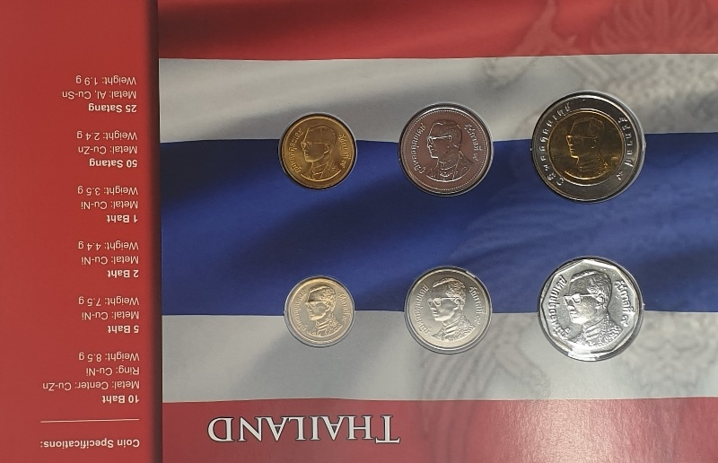 Coins Set - Thailand