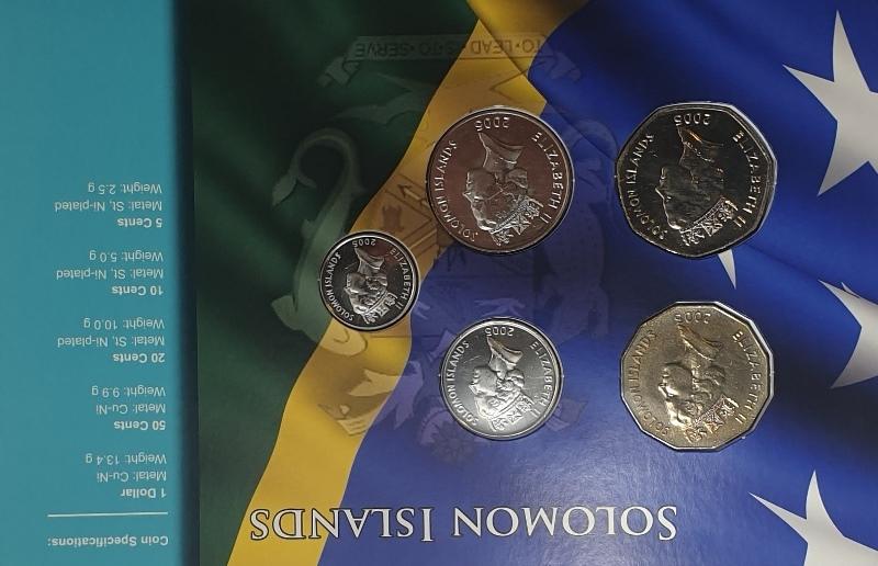 Coins Set - Solomon Islands