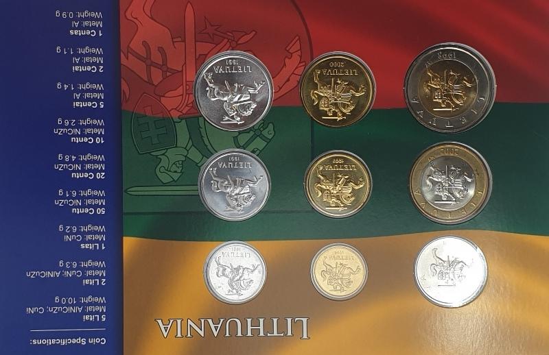Coins Set - Lithuania
