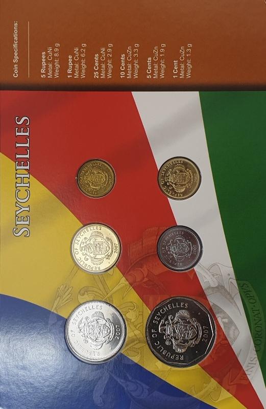 Coins Set - Seychelles