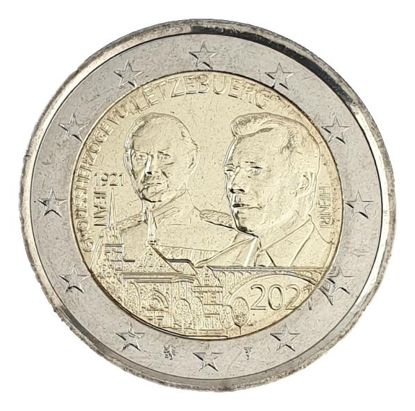 Luxembourg - 2 Euro 2021 A, UNC