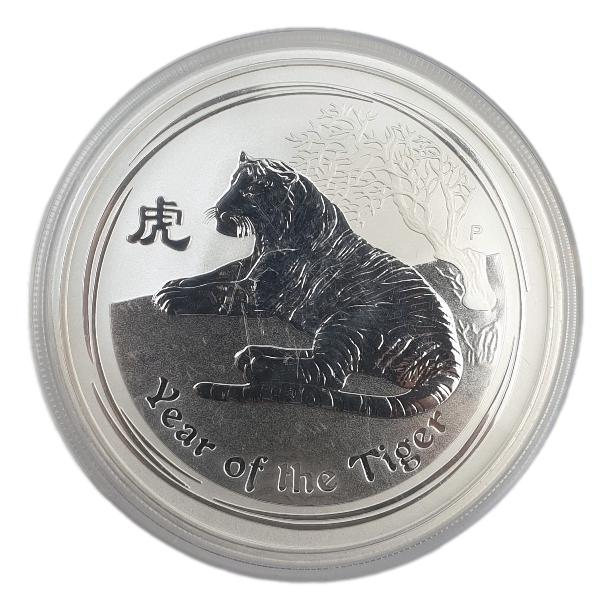 Australia - 2 OZ 2010 - Year of the tiger, Silver 999*