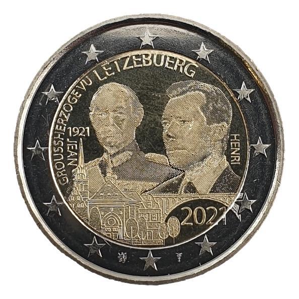 Luxembourg - 2 Euro 2021 B, UNC