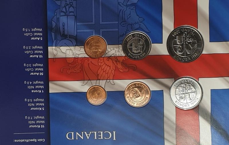 Coins Set - Iceland