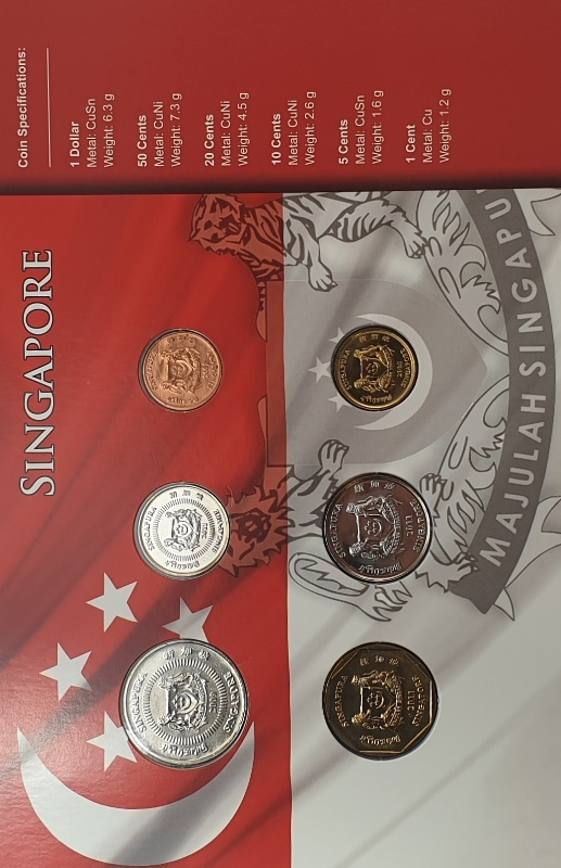 Coins Set - Singapore