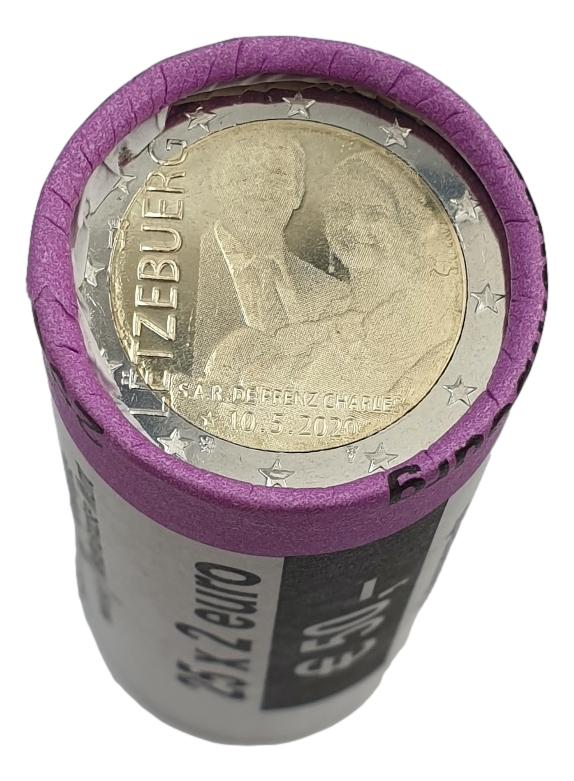 Luxembourg - 2 Euro 2020 Roll (25 pcs), UNC