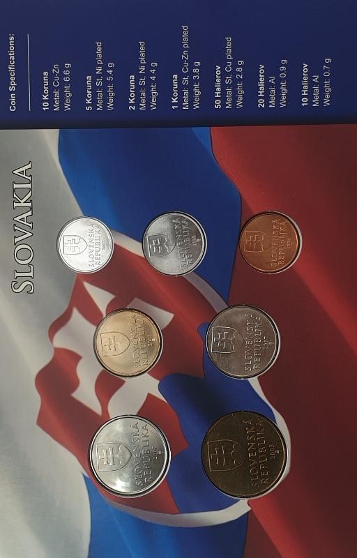 Coins Set - Slovakia