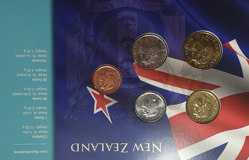 Coins Set - New Zealand