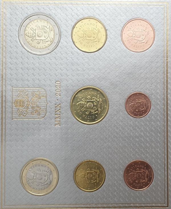 Coins Set - Vaticano 2020