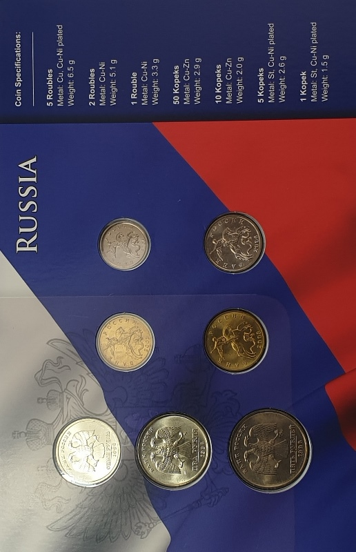 Coins Set - Russia