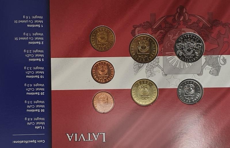 Coins Set - Latvia