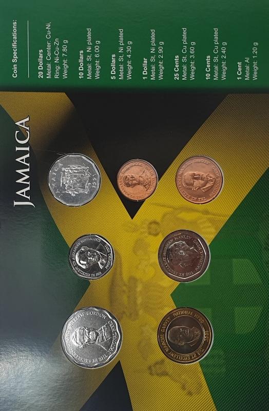 Coins Set - Jamaica