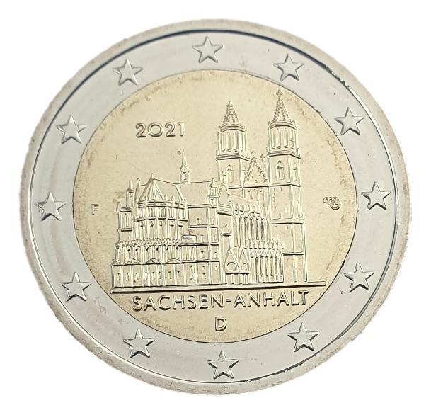 Germany - 2 Euro 2021 F, UNC